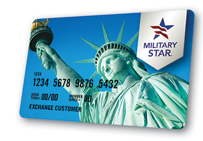 The Military Exchanges' Credit Card, the Military Star Credit Card, is accepted at all service exchanges and can be used online and for catalog purchases. It can be used at all AAFES, Marine.